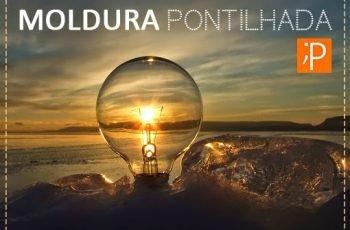 Como fazer Moldura Pontilhada no Photoshop (Tutorial Rápido)