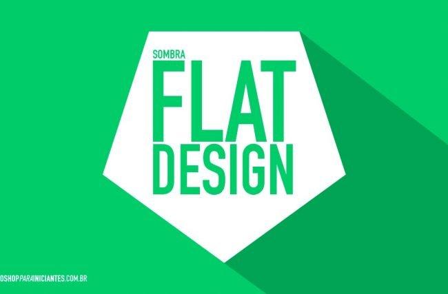 Flat Design – Quais as Melhores Cores, Fontes e como Fazer a Sombra no Photoshop