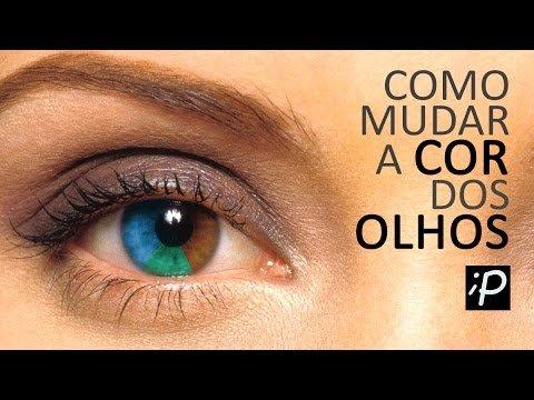 Mudar a Cor dos Olhos no Photoshop