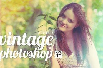 Tutorial de Como Fazer o Efeito Vintage no Photoshop