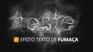 Efeito Texto de Fumaça no Photoshop