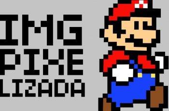 Como deixar uma imagem Pixelizada no Photoshop + Filtro de Pixel
