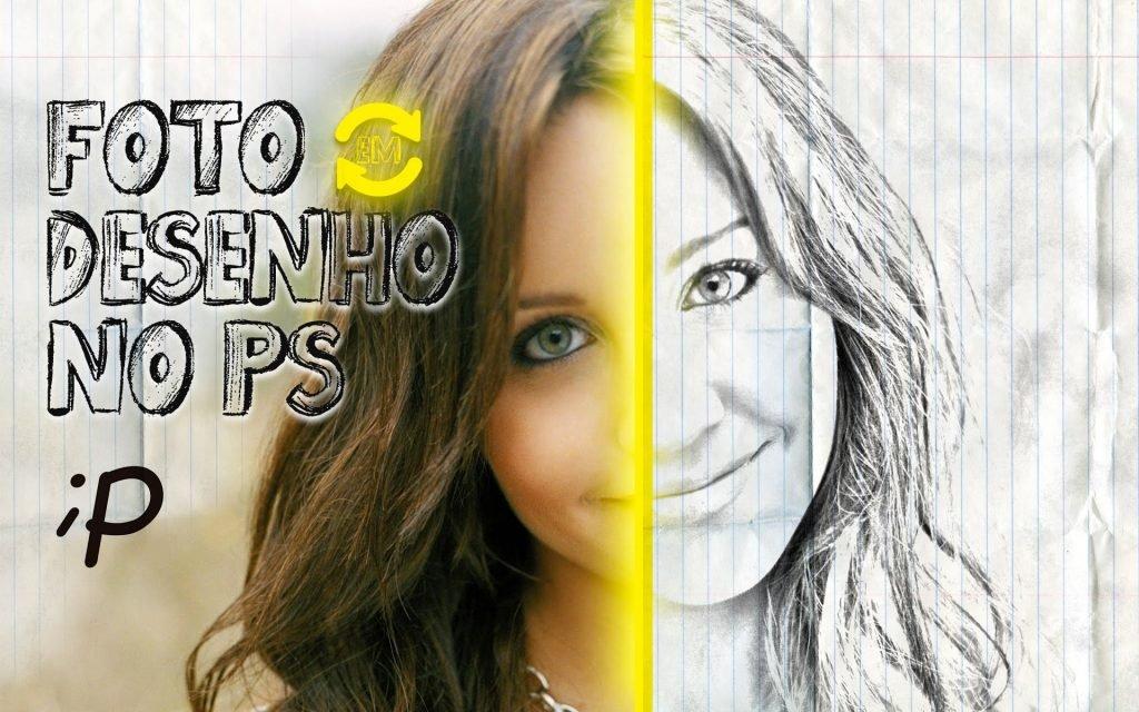 Foto em Desenho no Photoshop