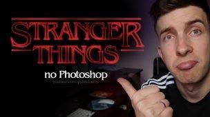 Como criar o Letreiro Stranger Things no Photoshop